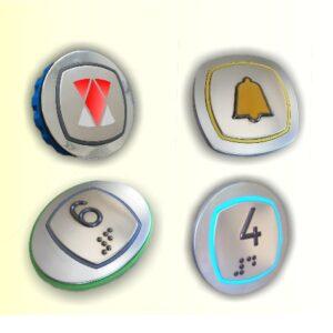 Pulsadores y Componentes